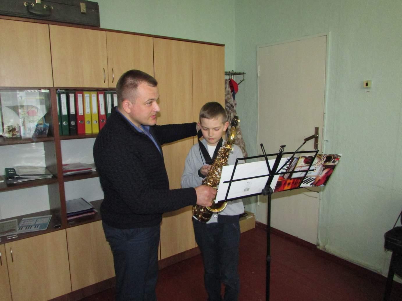 У Шполянській громаді підростають талановиті саксафоністи