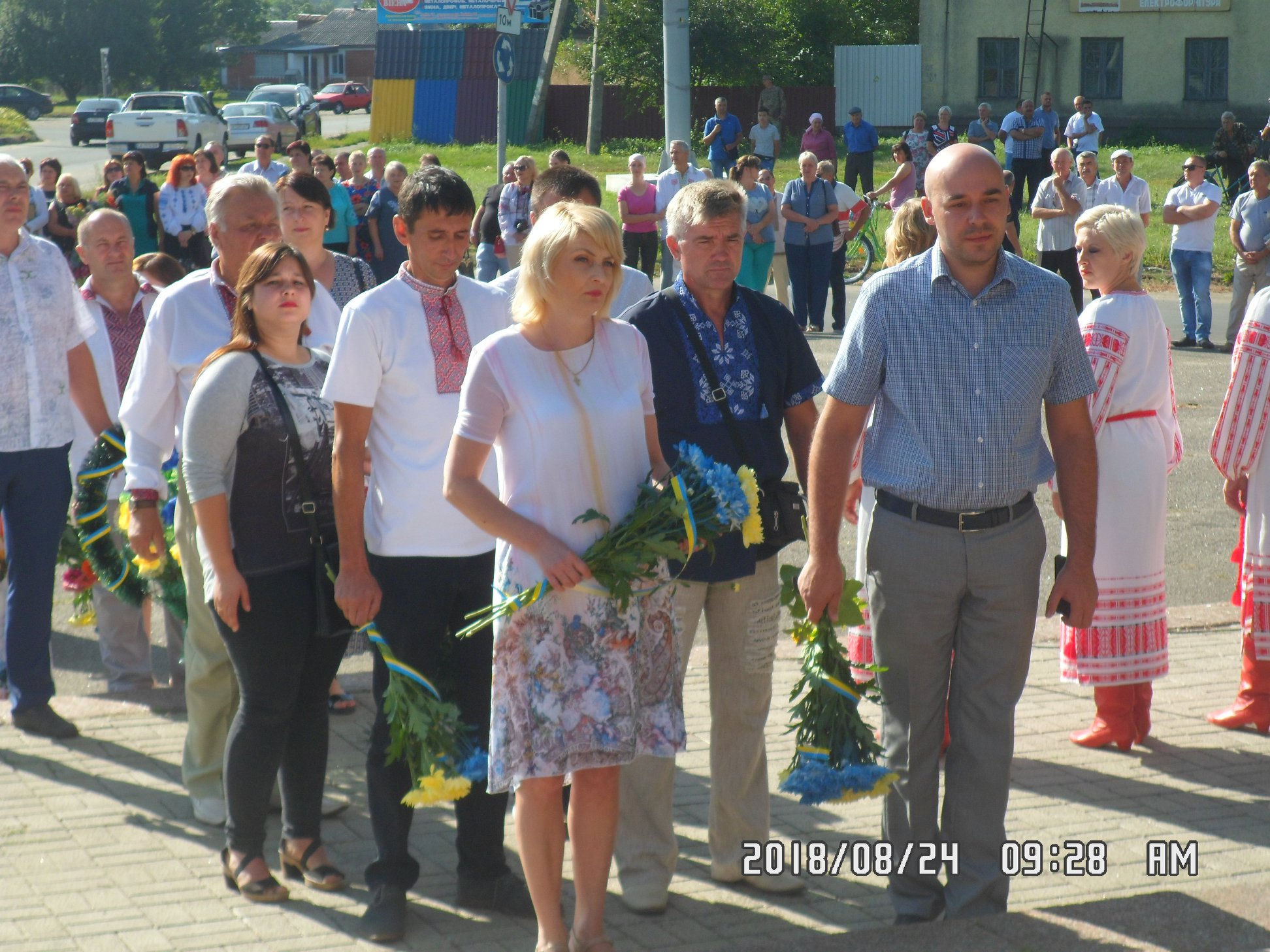 Шпола відзначила 27-у річницю Дня Незалежності (фоторепортаж)
