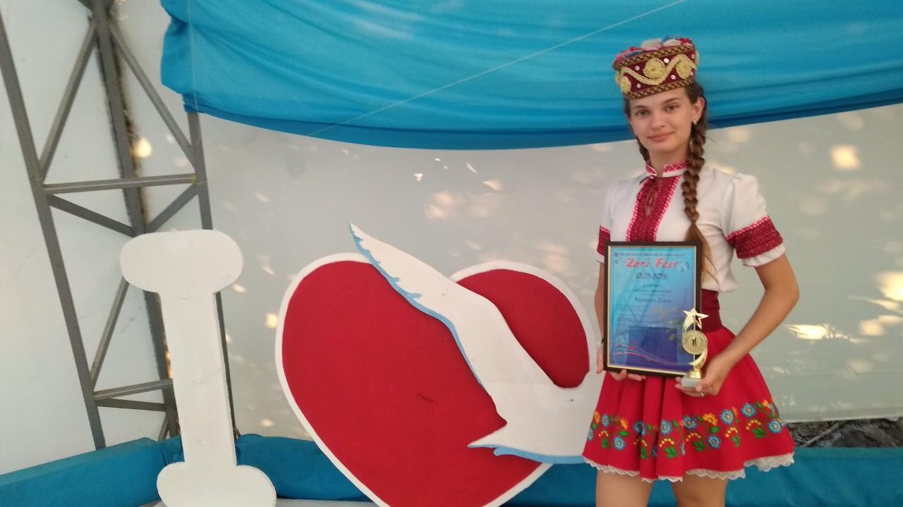 На «зоряному» фестивалі перемогла юна шполянка