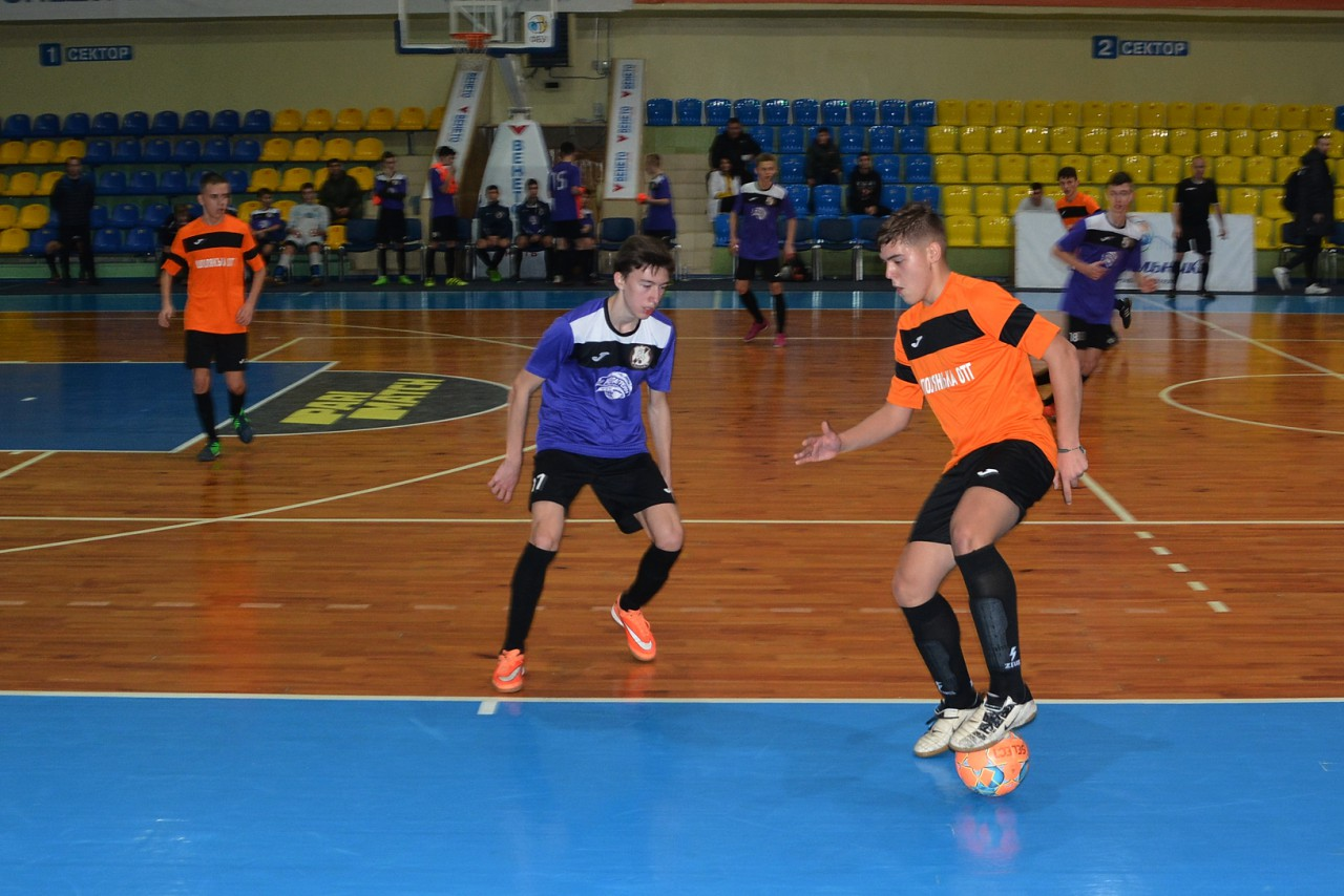 Шполяни взяли участь у чемпіонаті України з футзалу