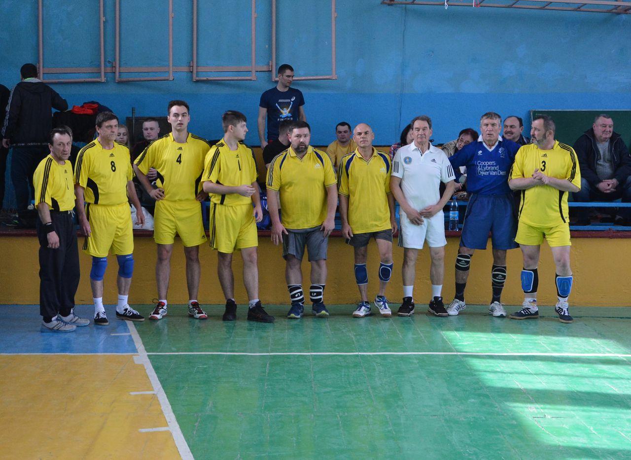Зіграні групові етапи відкритої першості Шполянської ОТГ з волейболу