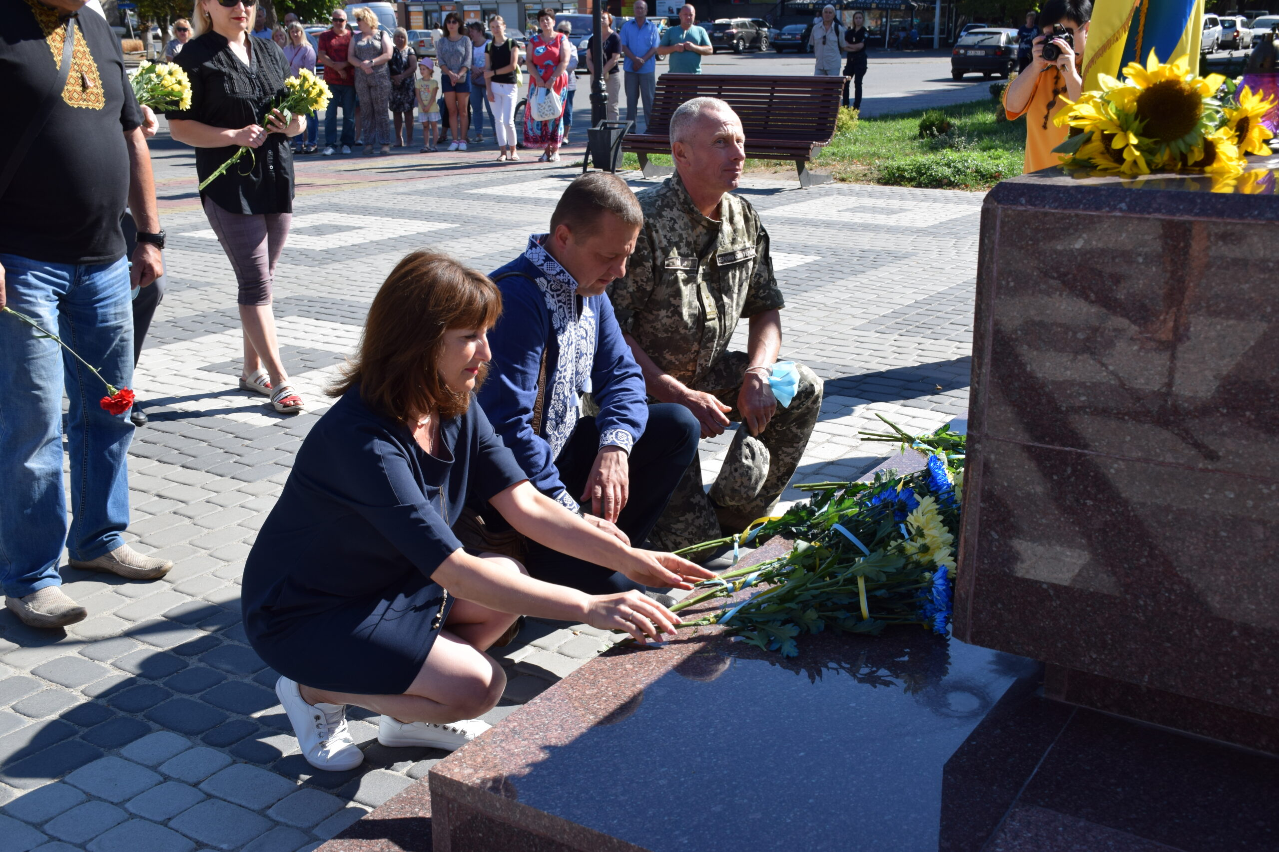 У Шполі вшанували захисників, які загинули в боротьбі за незалежність, суверенітет і територіальну цілісність країни