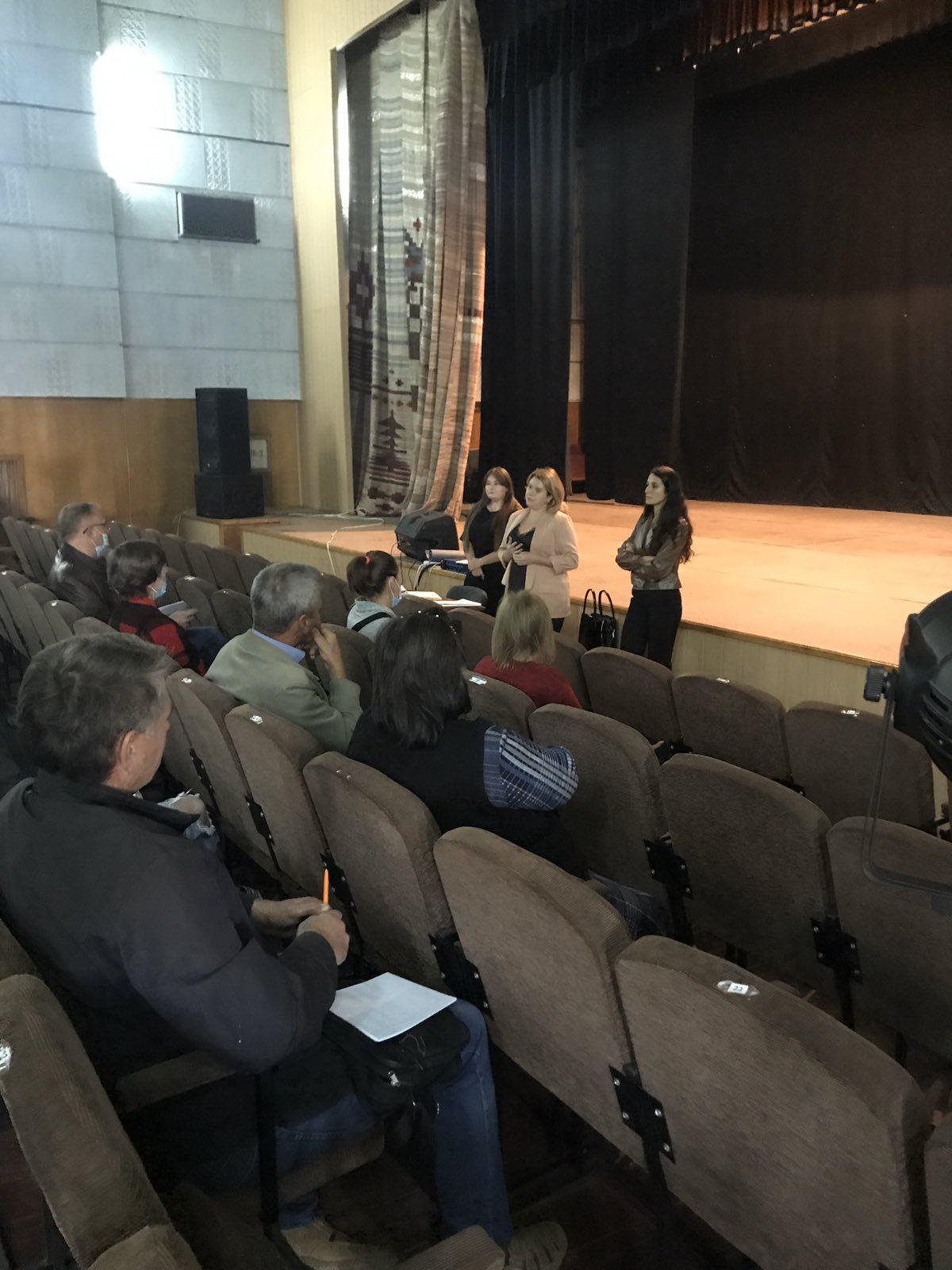 Проведено семінар клубних працівників закладів культури Шполянської ОТГ